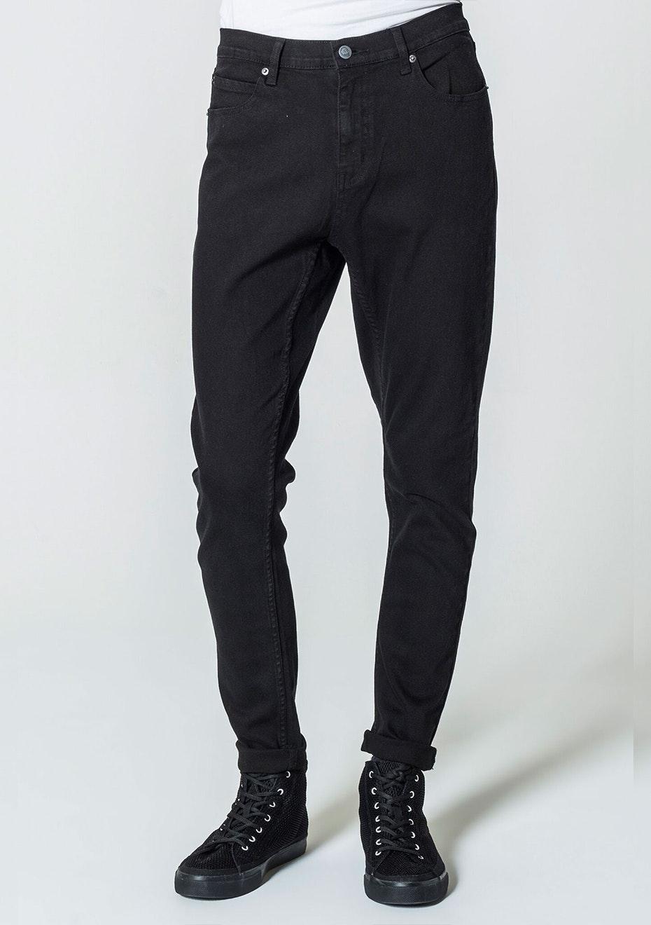 Cheap Monday - Mens - Dropped - New Black 32 Leg