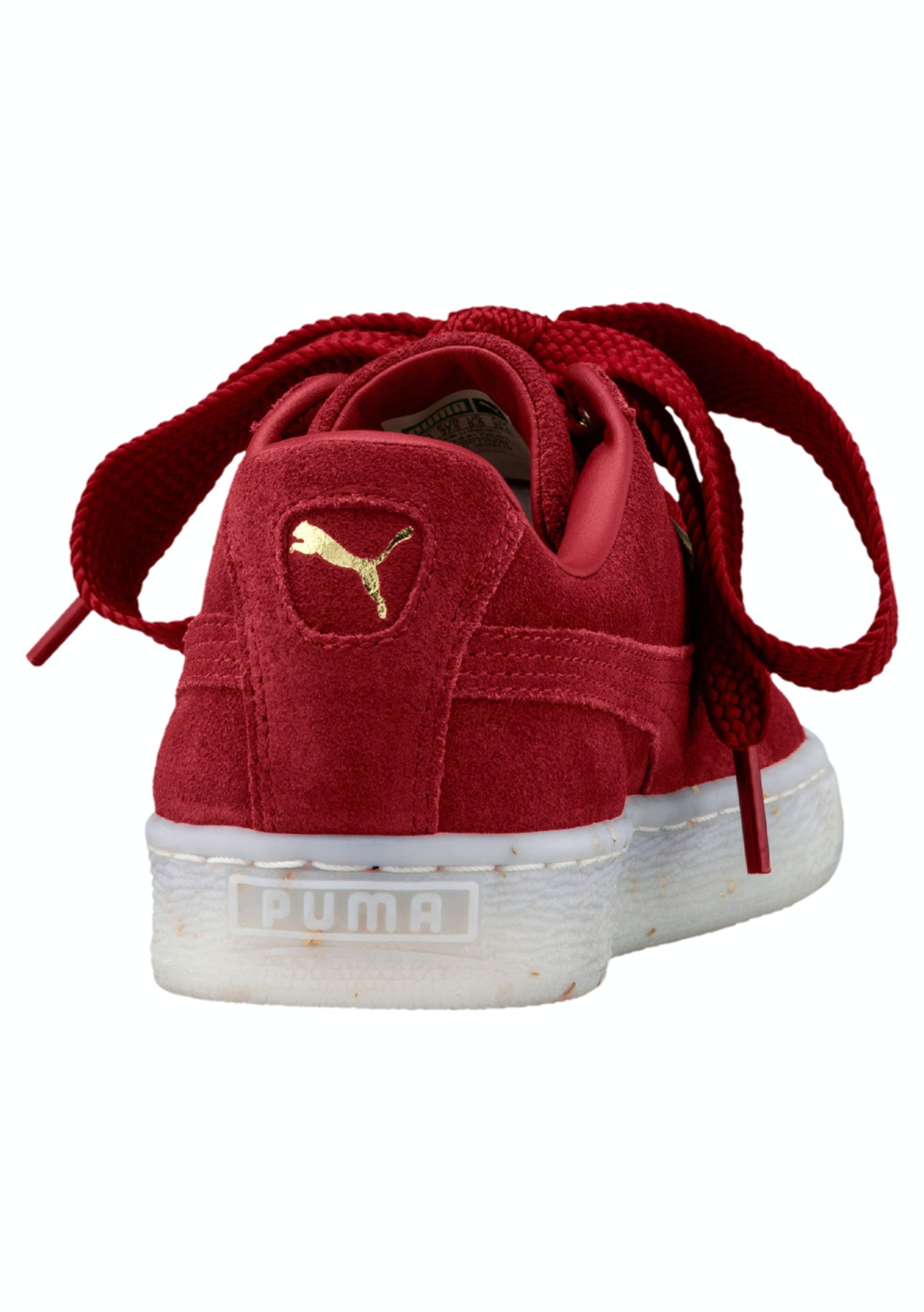 7226ec27e91db5 Puma Womens - Suede Heart Fabulous - Red - Big Brand Active - Onceit