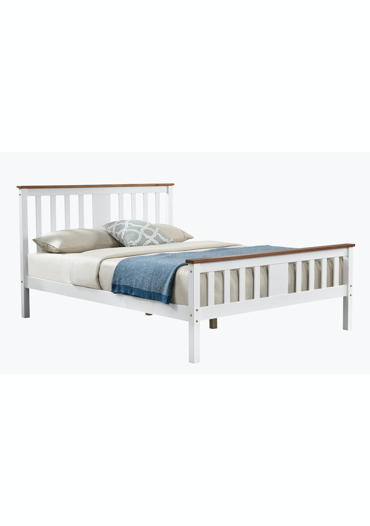 Norris Bed Frame Queen Affordable Bedroom Furniture Onceit