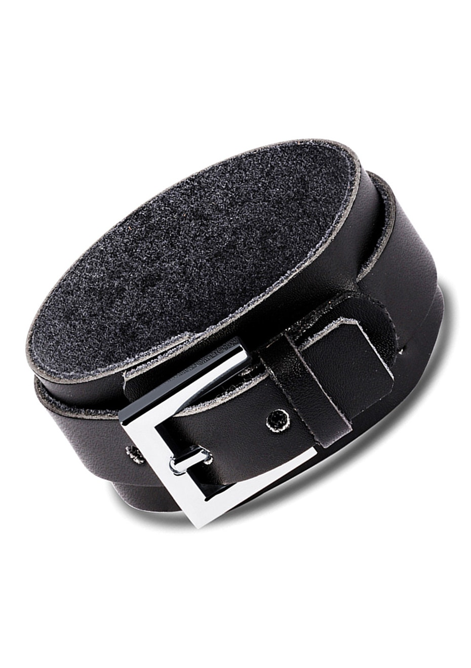 Genuine Leather Bracelet | Black