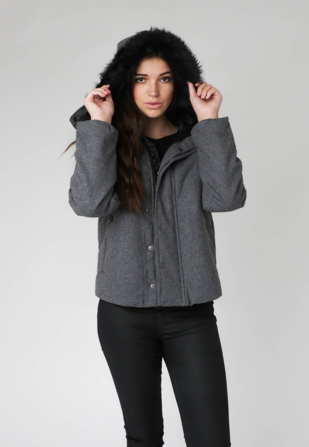 All About Eve - Ruby Puffer - Charcoal