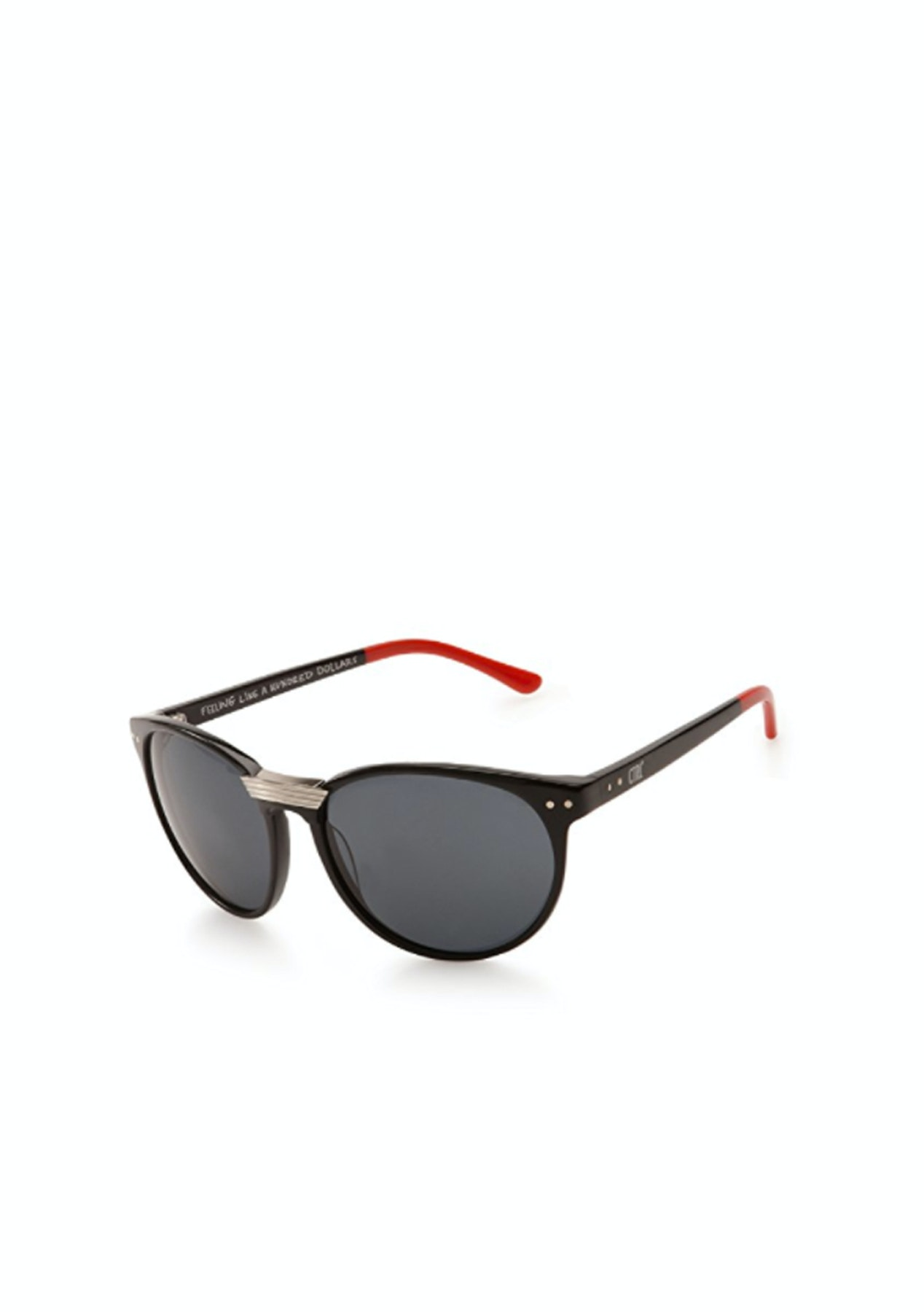 6127d36e10a Sabre Eyewear - Ctrl - Black Red Grey - The Big Sunglasses Sale - Onceit