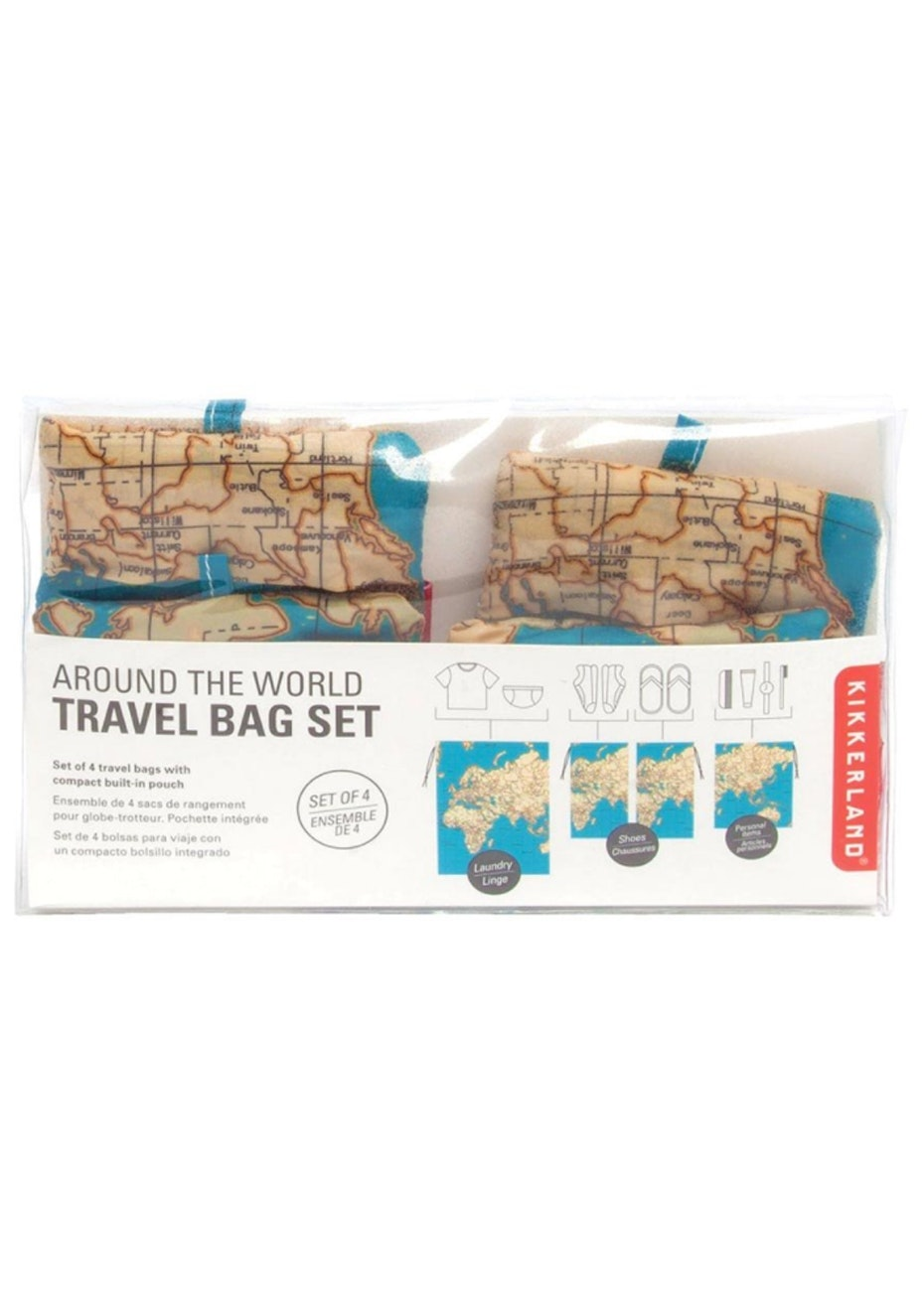 Around The World Travel Bag Set - 4 Piece Set