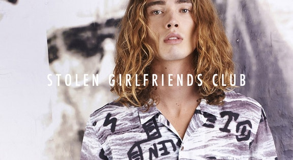 Image of the 'Stolen Girlfriends Club Menswear' sale