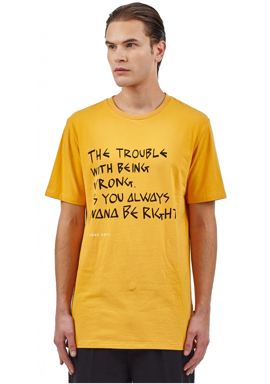 I Love Ugly - Ongoing Troubles Tee - American Mustard