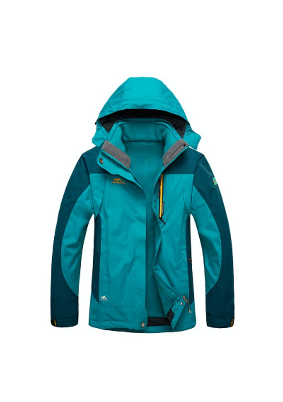 Women 2-in-1 WaterProof Jackets - Turquoise