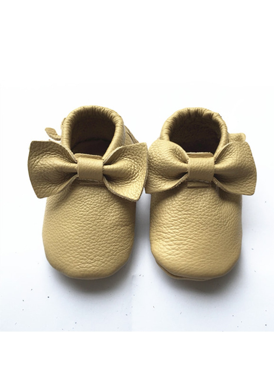 Baby  Leather Shoes - Beige