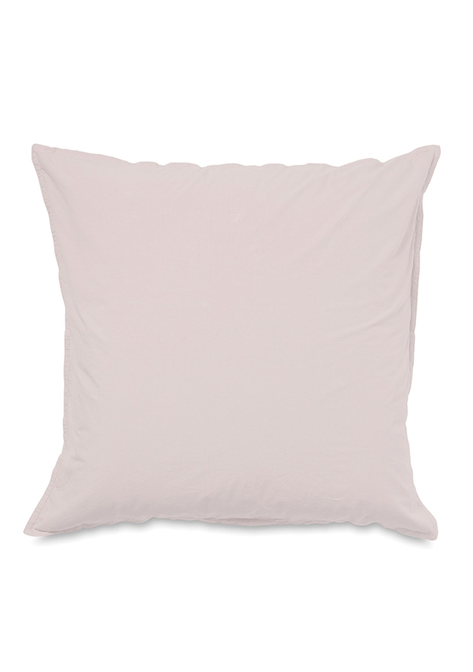 Citta - Washed Egyptian Cotton Euro Pillowcase - Ice Pink