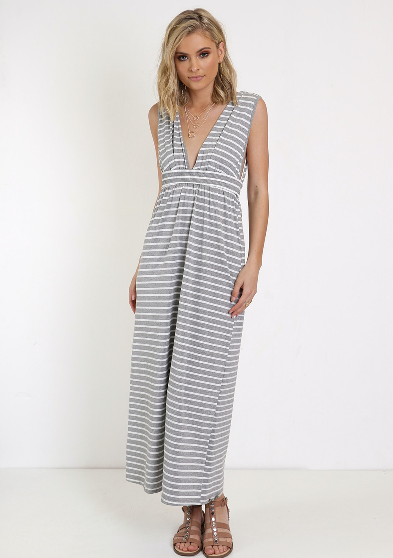 a71756b1e6c1c Madison - Limelight Maxi Dress - Grey