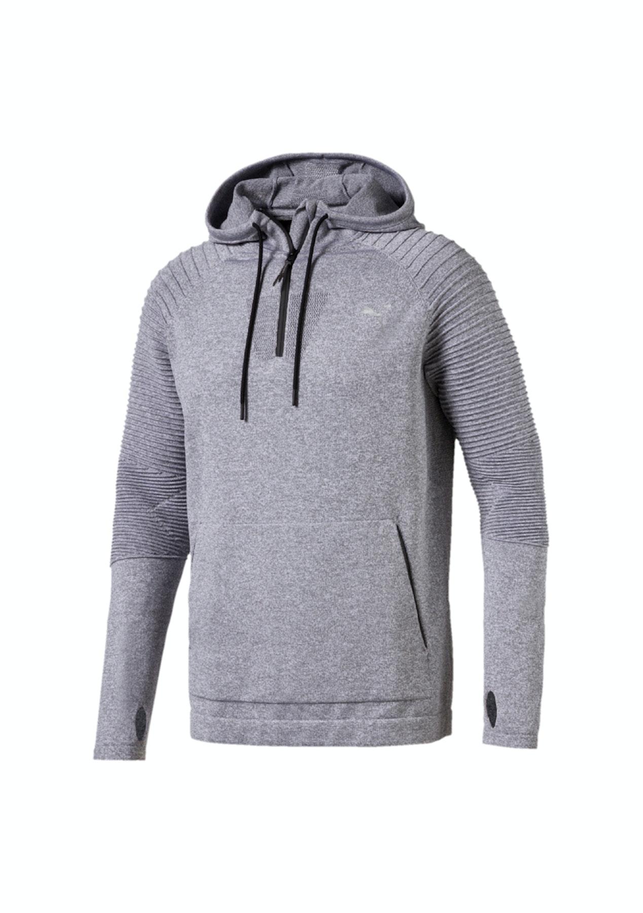 e6ace898263d Puma - Mens Evoknit Energy 1 2 Zip Grey - Big Brand Mens Picks - Onceit