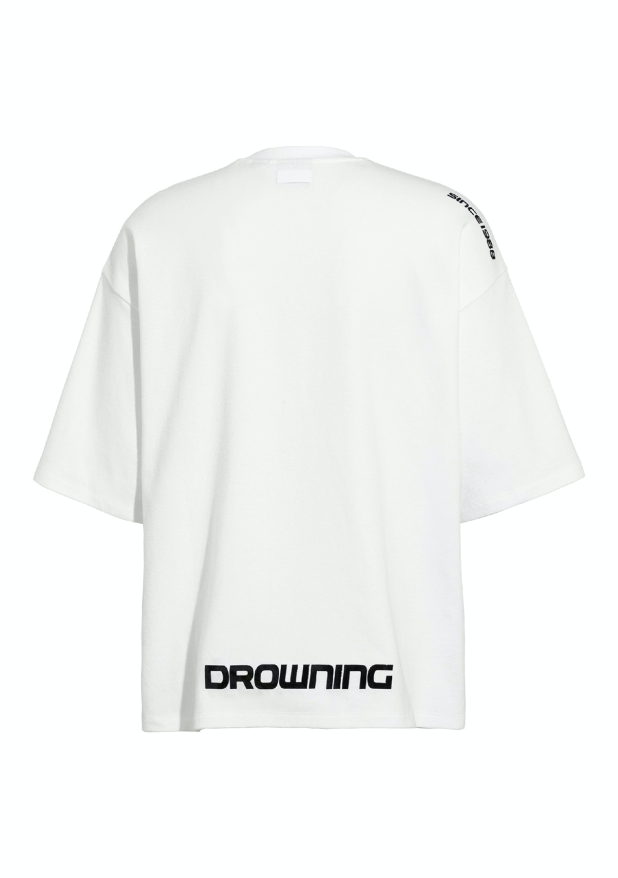 low priced d5cd9 dc746 FENTY Short Sleeve Crew Neck T-Shirt - Bright White