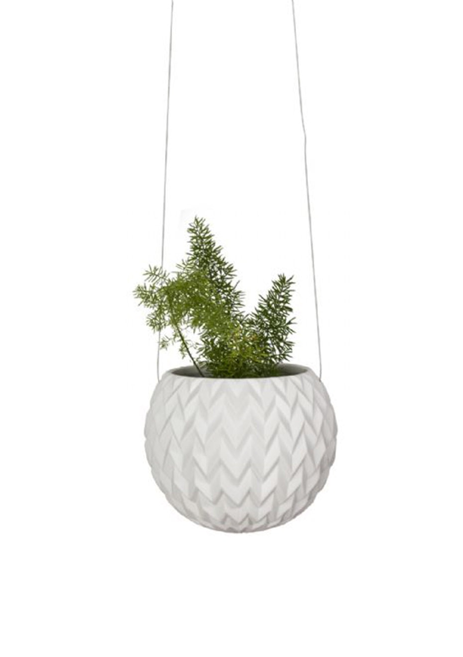 General Eclectic - Hanging Planter Chevron