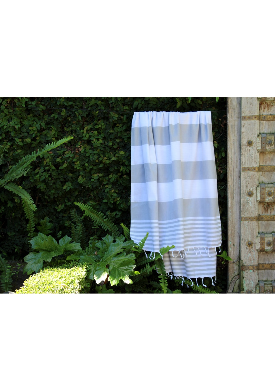 Ladon Grey Turkish Towel