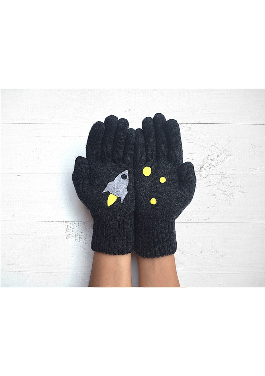 Rocket Gloves - Charcoal