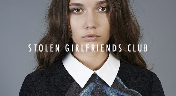 Image of the 'Stolen Girlfriends Club Womenswear' sale