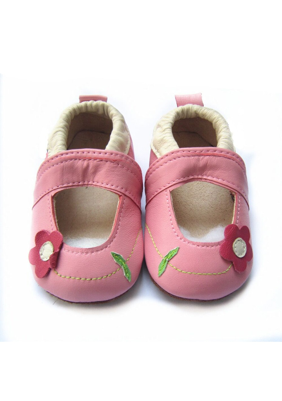 Baby  Leather Shoes - Pink