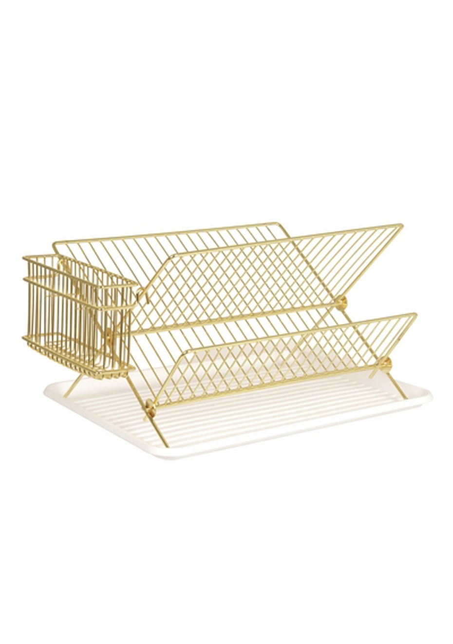 Pt Home - Dish Rack - Gold