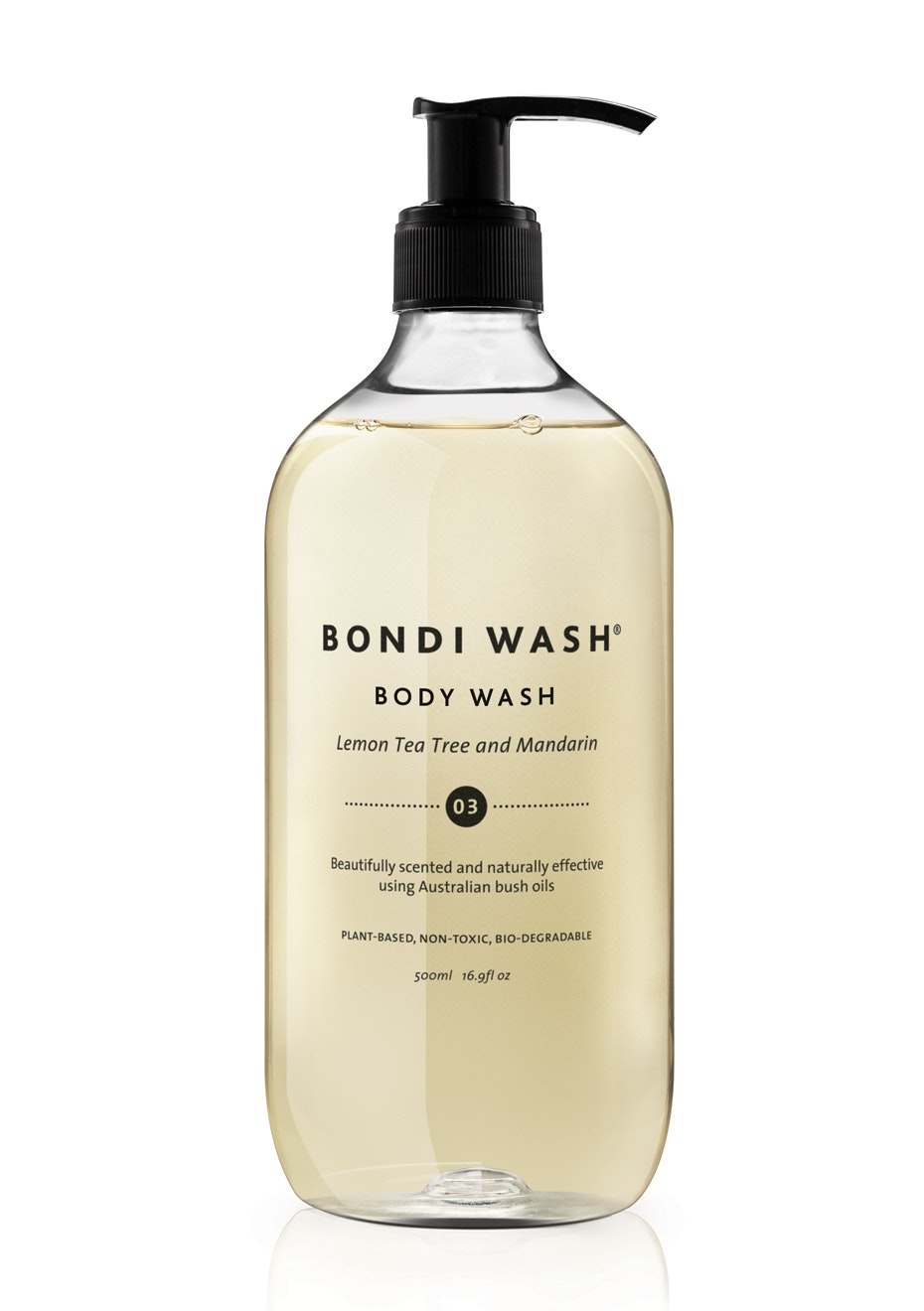 Bondi Wash - Body Wash Lemon Tea Tree & Mandarin 500ml