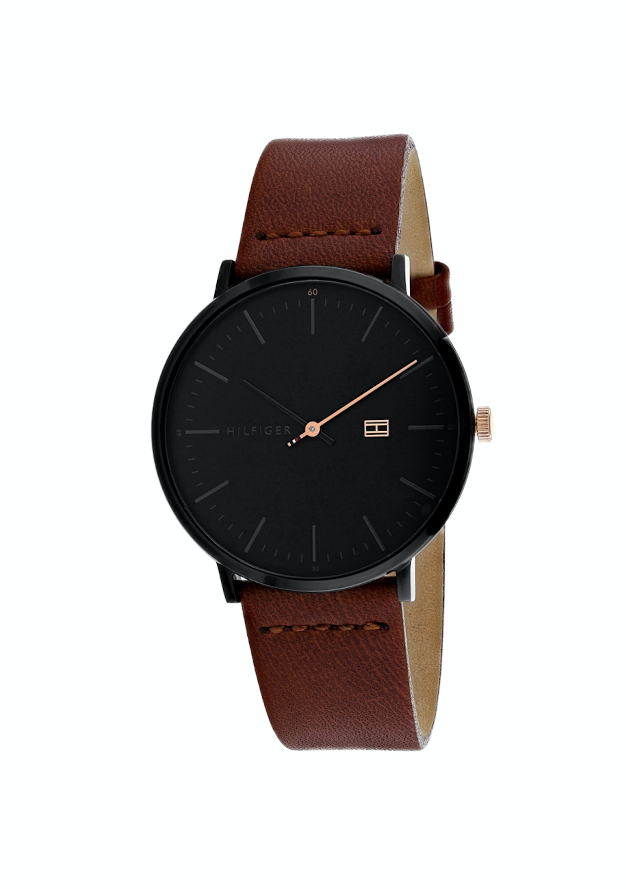 e2cecdfd Tommy Hilfiger - James 40mm - Mens - Black/Brown - Jewellery & Watch Gift  Guide - Onceit