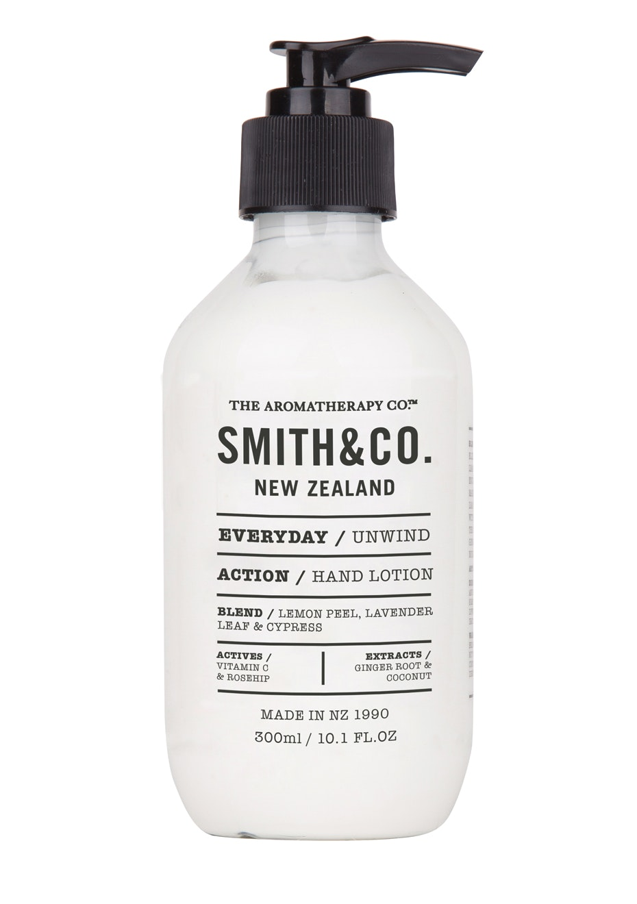 The Aromatherapy Co.  Smith & Co. Hand Lotion - Unwind  - 300ml