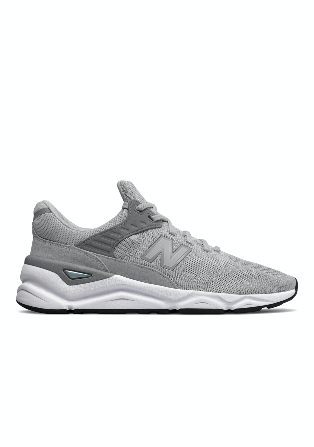 online store a10c4 2734e New Balance Mens - X-90 - Rain Cloud with Mineral Sage - New Balance -  Onceit