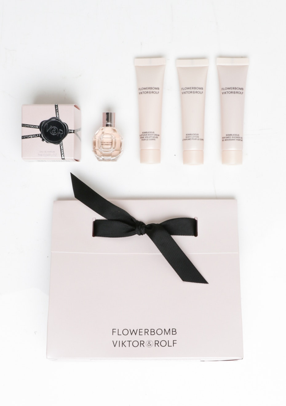 Viktor & Rolf Flower Bomb 4pc Mini Giftbag