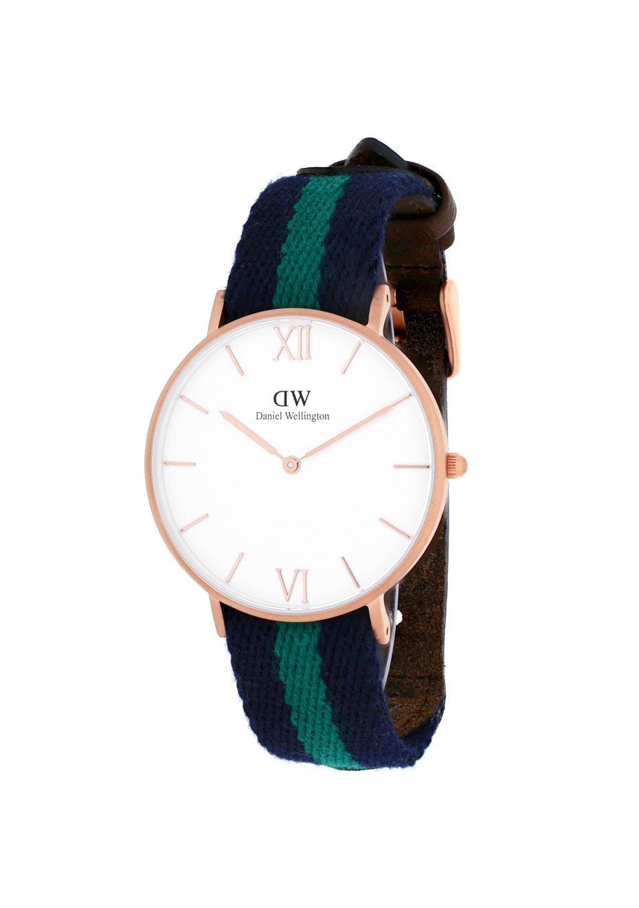 Daniel Wellington Women's Grace Warwick - White/Two-tone Navy B