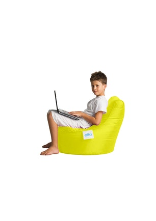 Miraculous Alta Beanbags Kiddo Yellow Alta Beanbags Onceit Gmtry Best Dining Table And Chair Ideas Images Gmtryco