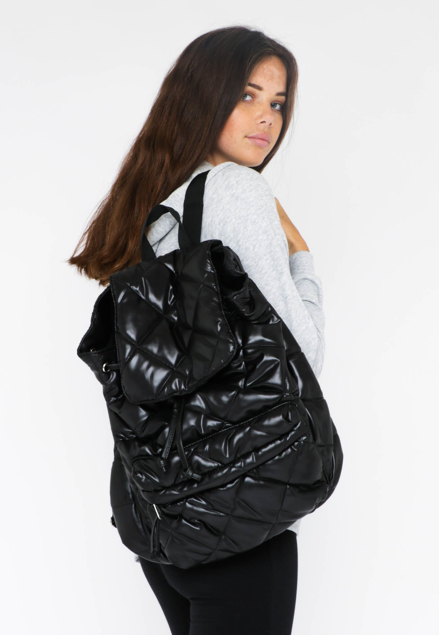 All About Eve - Puffs Backpack - Black