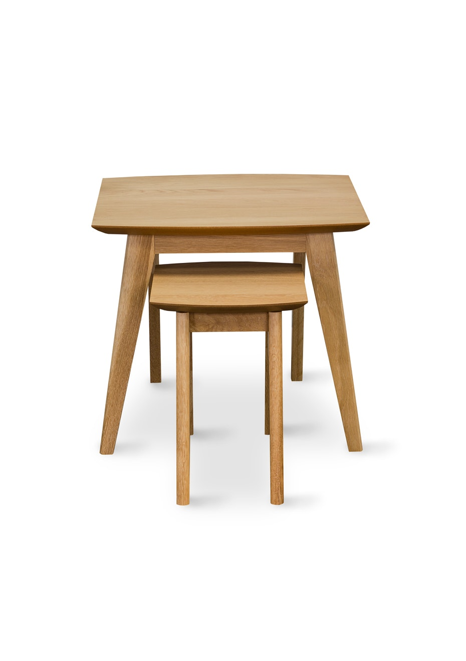 Furniture By Design - Milano Nest of Tables- Light Oak
