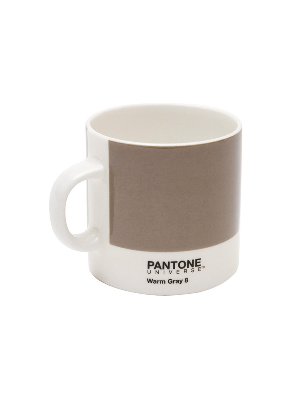 Pantone - Bone China Espresso Cup - Warm Grey