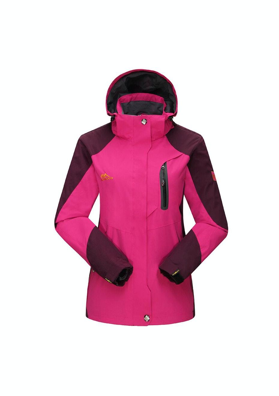 Women 2-in-1 WaterProof Jackets - Rose