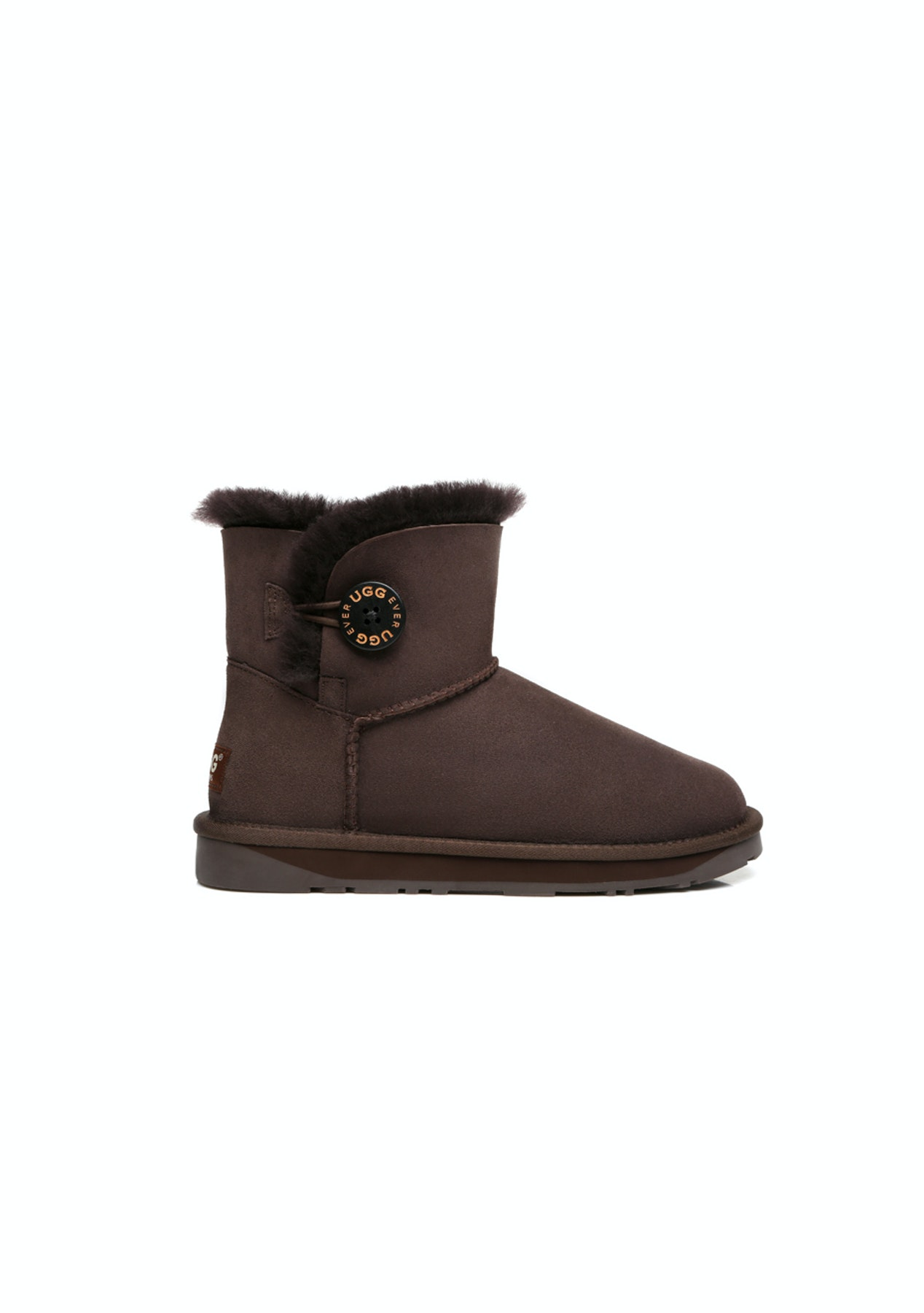 75a2b36b81ff Ever Uggs - Mini Button Chocolate - Onceit's Gone it's Gone Shoe Edition! -  Onceit