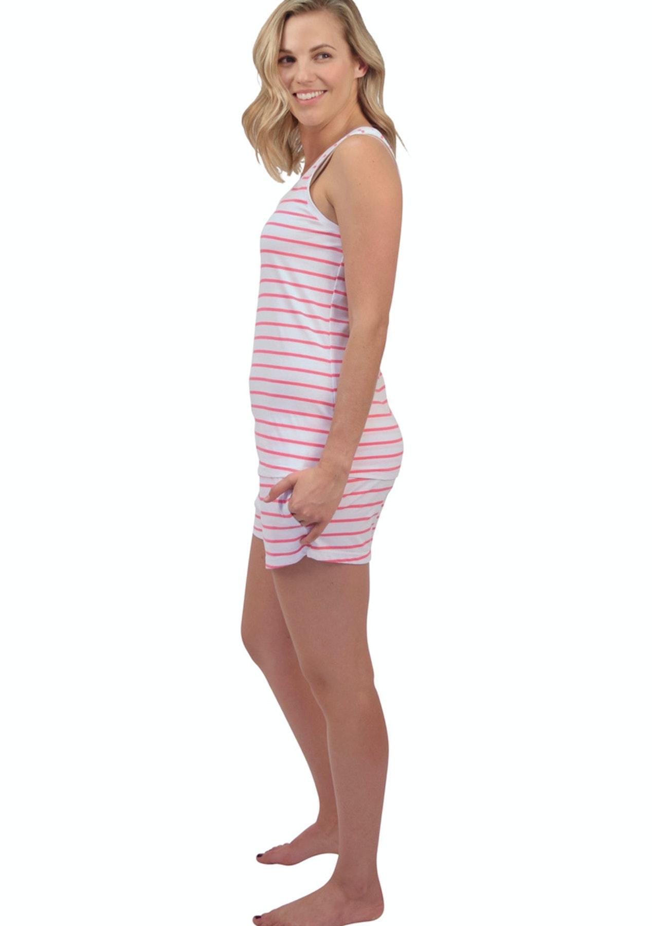 8f02df728961 Sant   Abel - Women - Tank   Jersey Tops - Pink Zebra - Luxe Silk    Sleepwear - Onceit