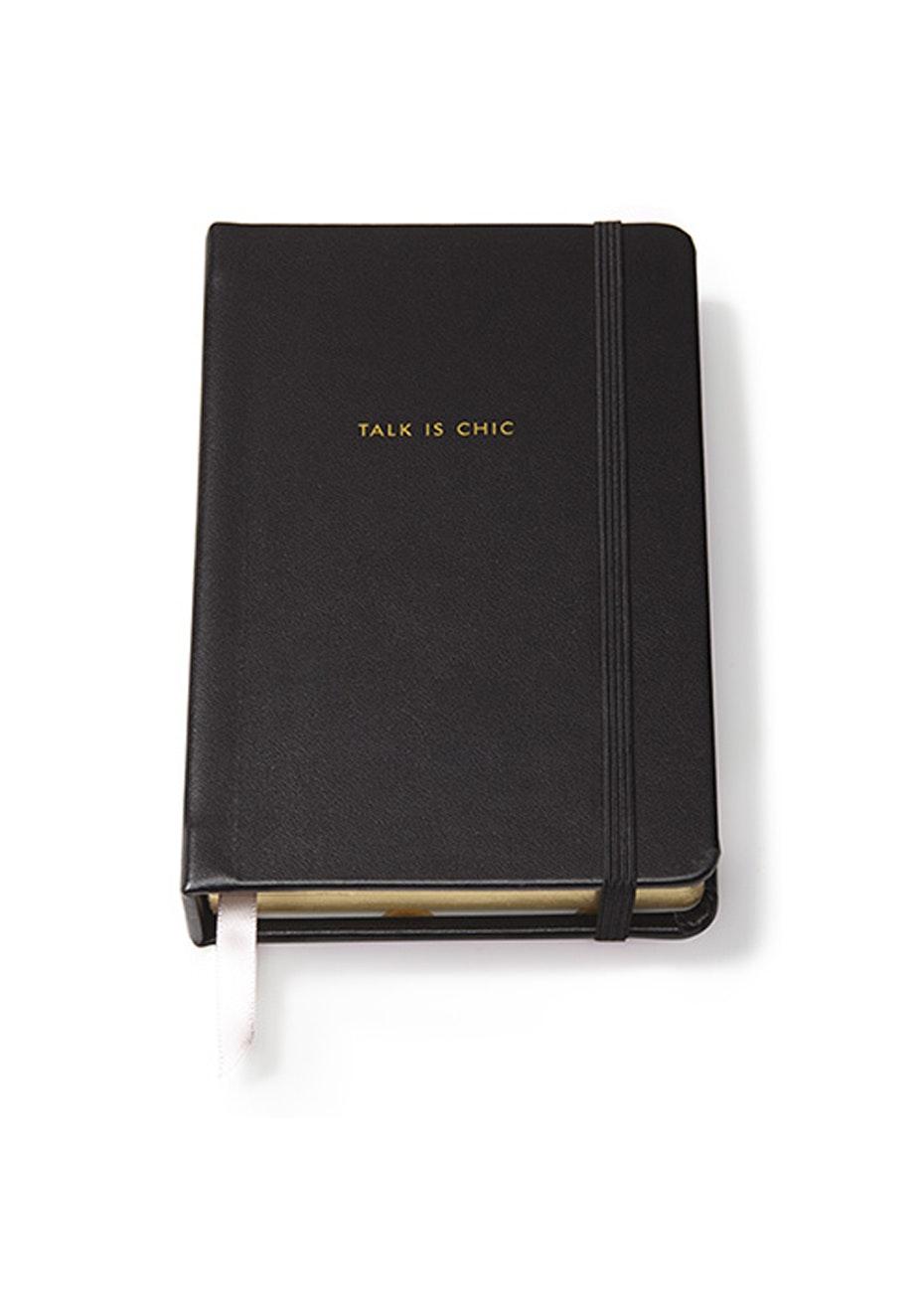 Kate Spade - Medium Notebook Black