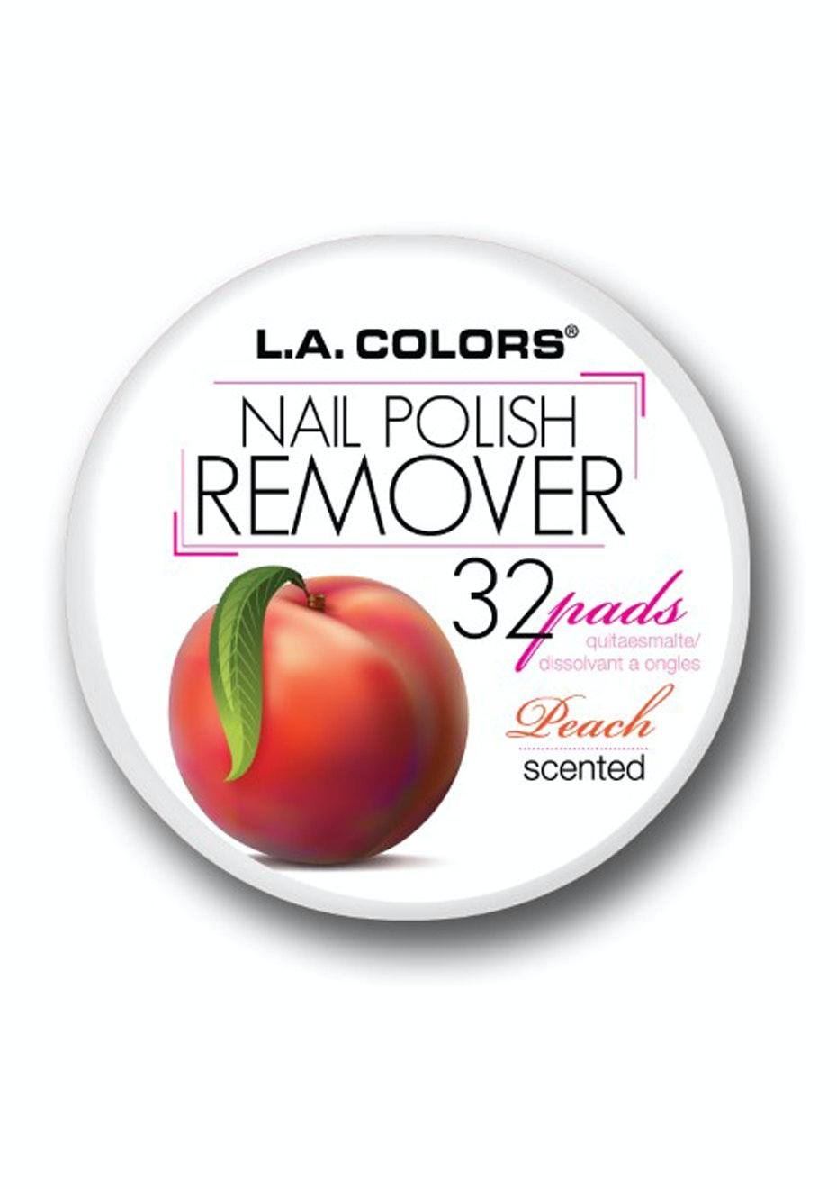 LA COLORS - Nail Polish Remover Pads  - Peach