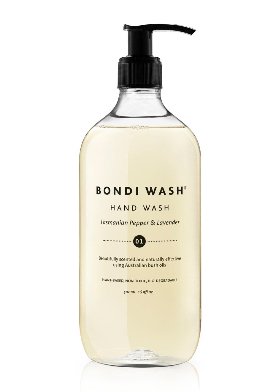 Bondi Wash - Hand Wash Tasmanian Pepper & Lavender 500ml