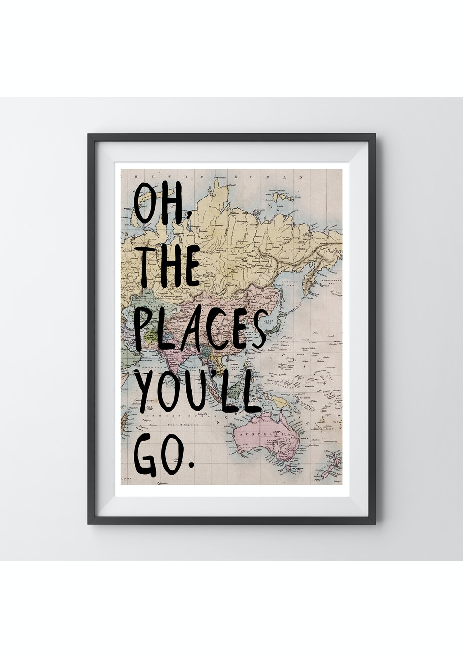 Simply Creative - Places You'Ll Go - A4 Colour Print