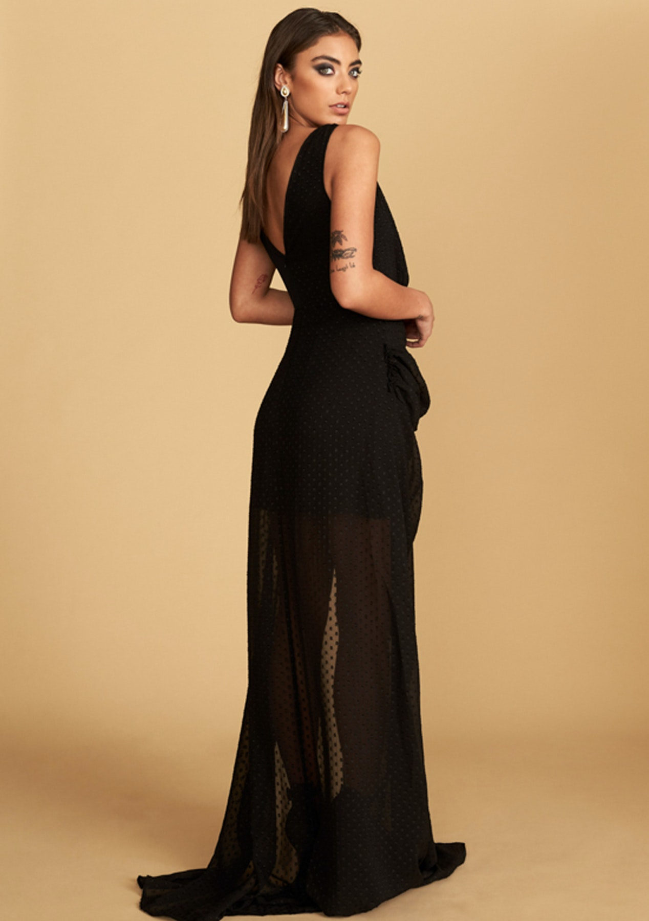 d921b37edd Lioness - La Loca Maxi Dress - Black
