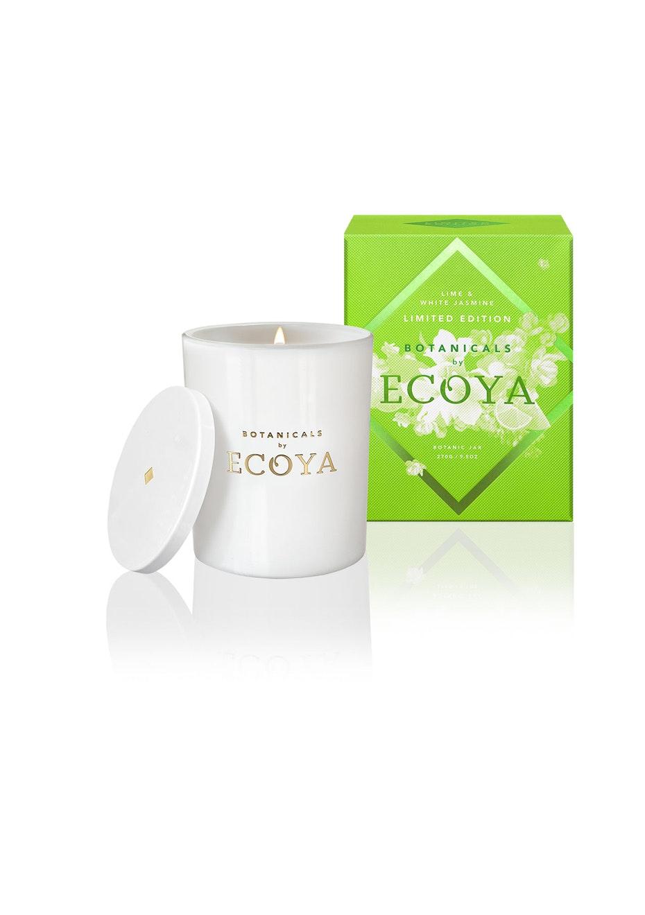Ecoya - Limited Edition Botanic Jar - Lime & White Jasmine