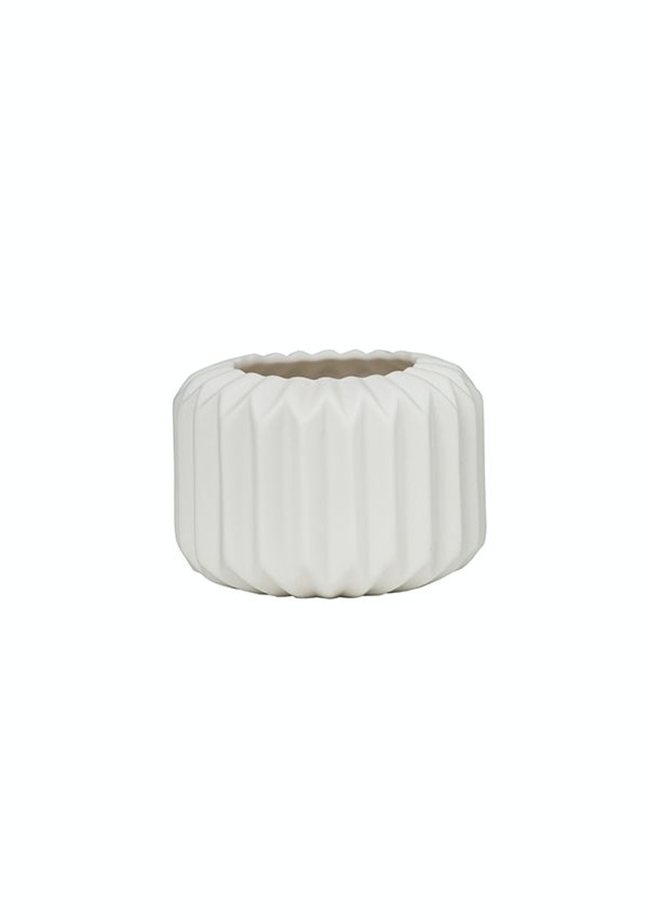 General Eclectic - Votive Porcelain Small White