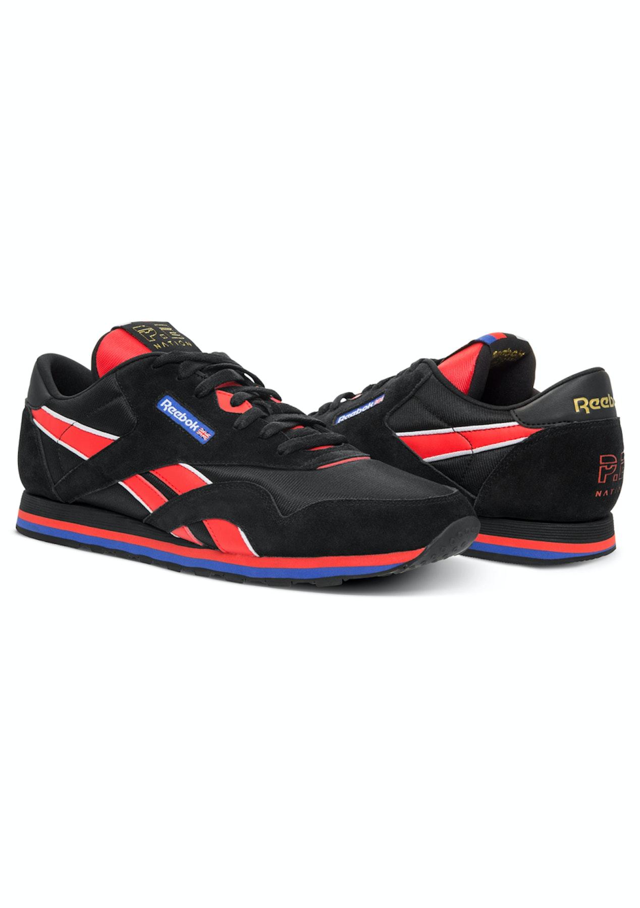 1ddd019218e Reebok x PE Nation Classic Nylon Trainer - Black - Reebok x PENation  Restock - Onceit