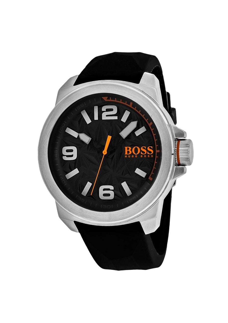 Hugo boss Men's Orange - Black/Black