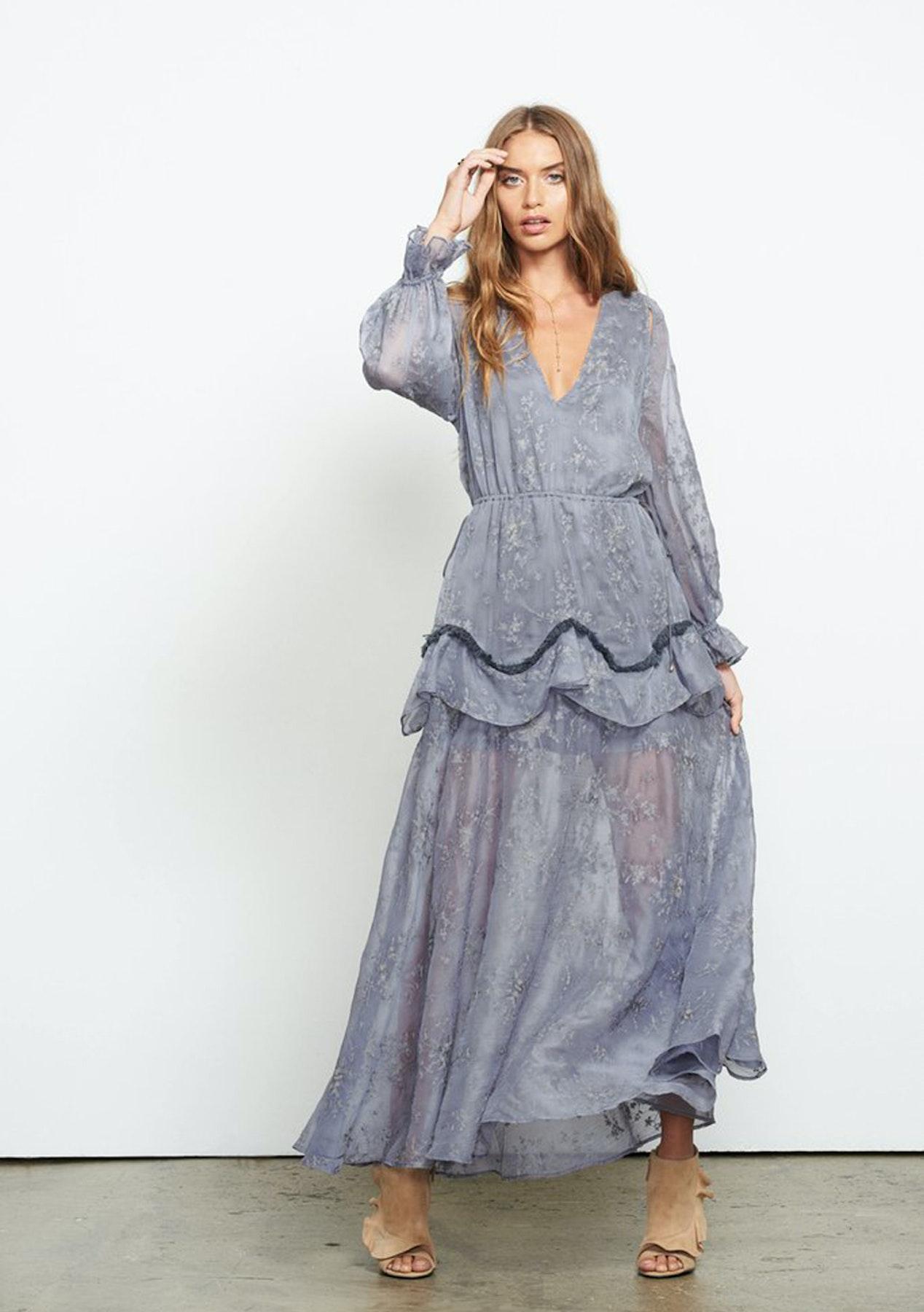 8ae722273c196 Stevie May - The City Maxi Dress - Dove - New Stevie May, Isla & La Maison  Talulah - Onceit