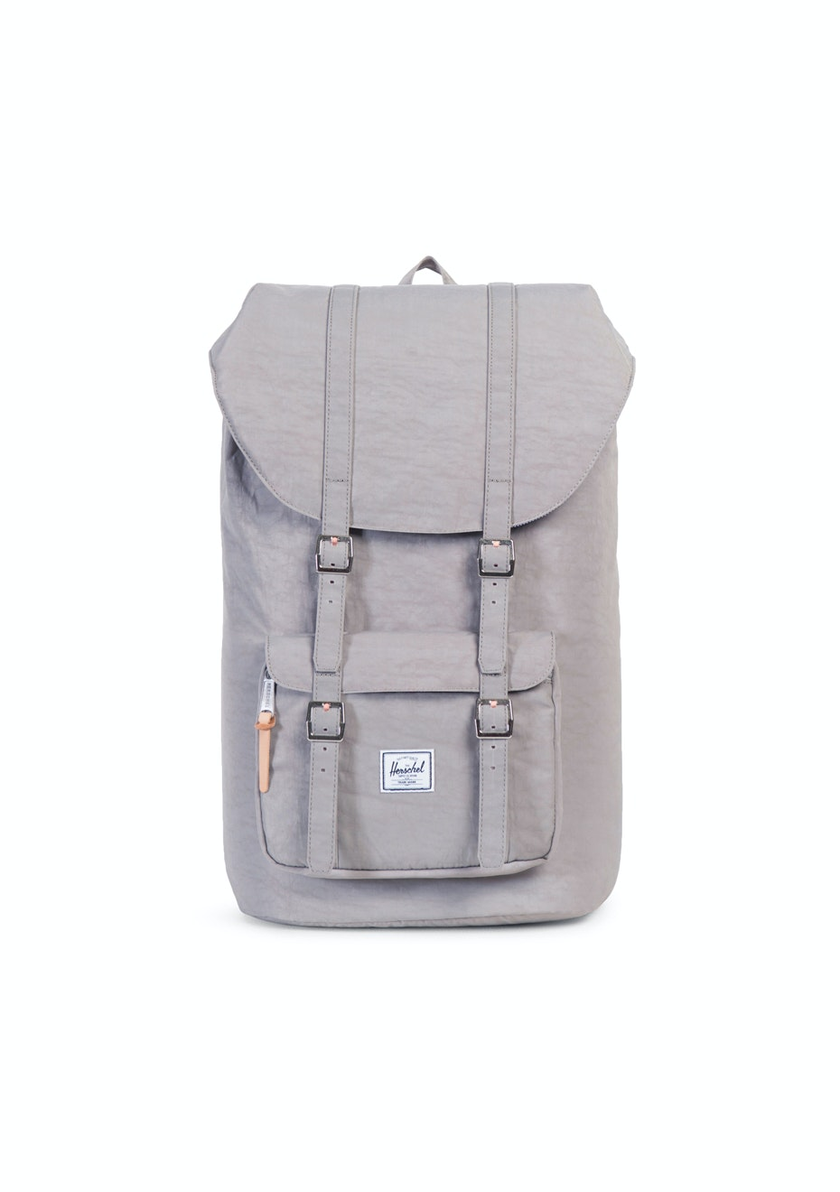 Herschel Supply Co - Little America - Agate Grey/Raw Veggie Tan Leather