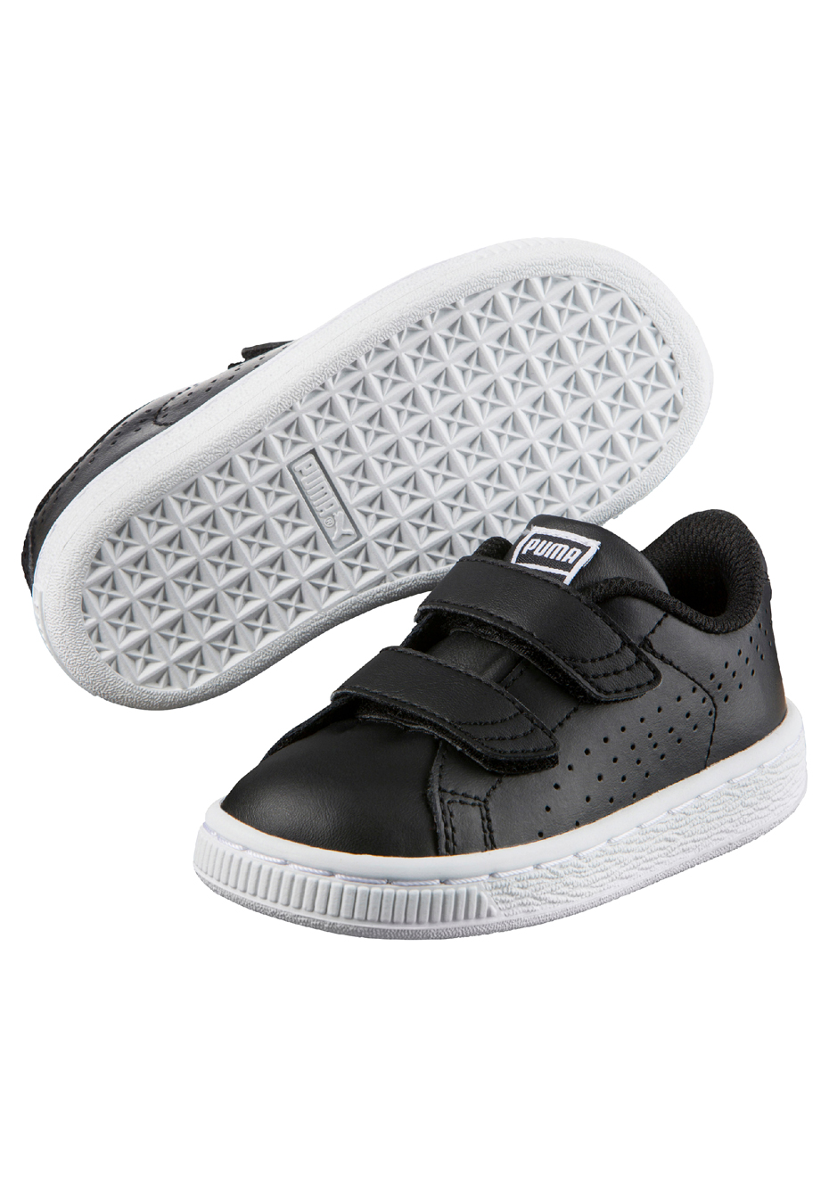 amp;w Black Classic Velcro Infant Puma Basket B 9WDEH2IY