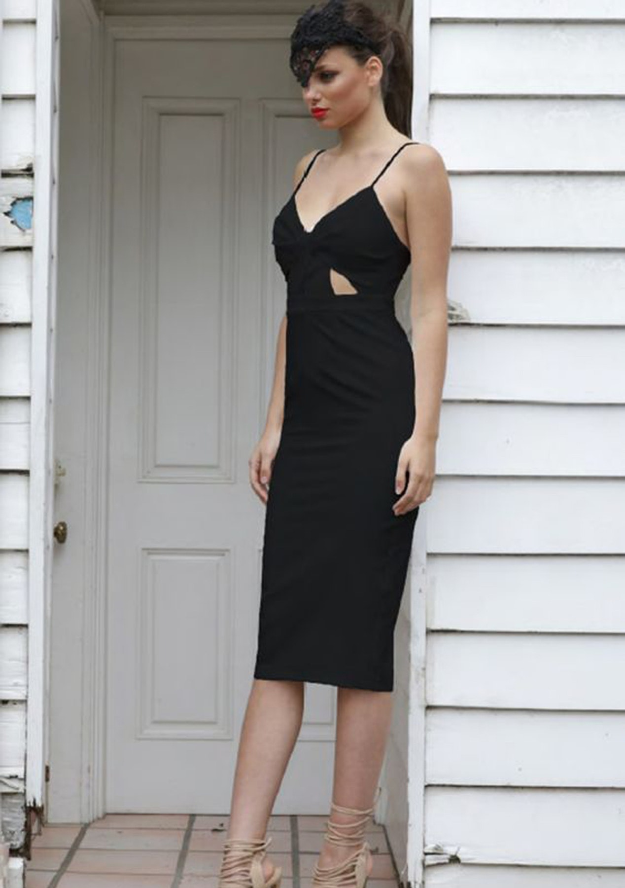 Madison - Cut Above The Rest Dress - Black