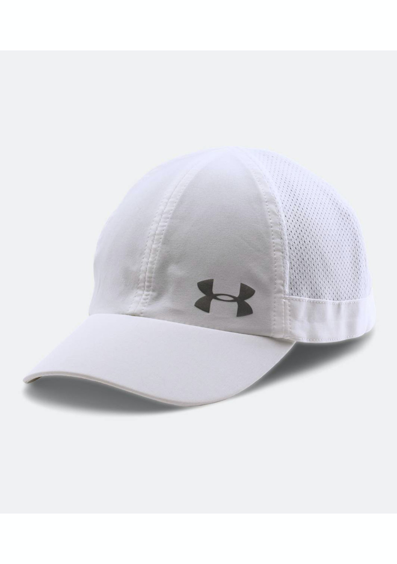 33cd1e9e621 Under Armour Womens Fly Fast Cap - White Grey Silver - Up to 65% off Under  Armour - Onceit