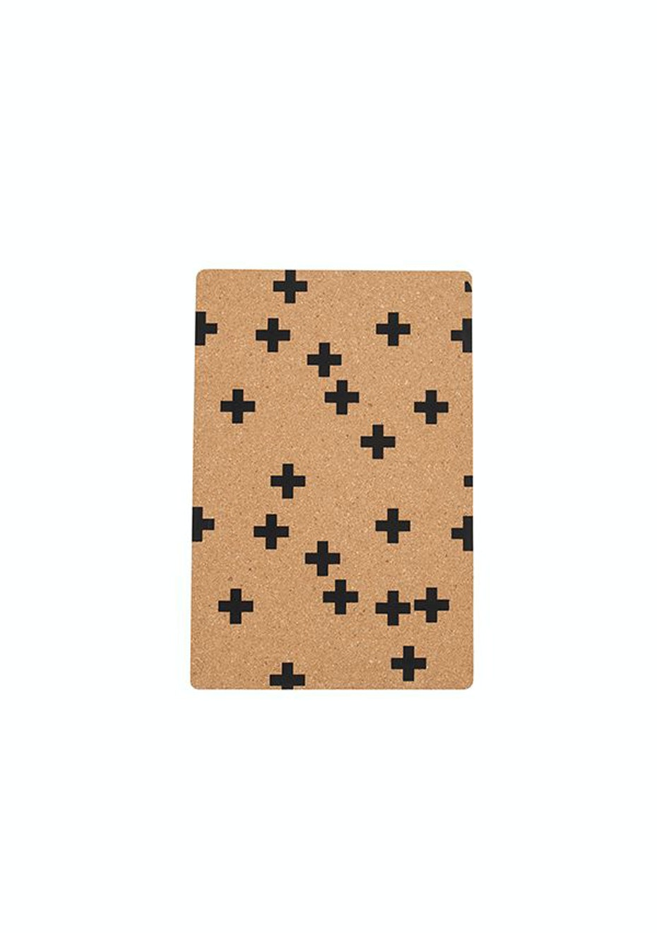 General Eclectic - Cork Placemat Crosses Set of 4