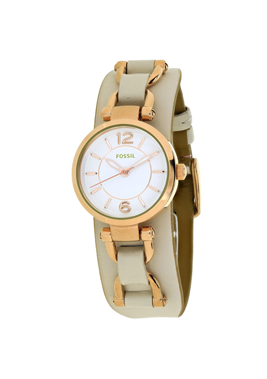 Fossil Women's Georgia Artisan - White/Off-white